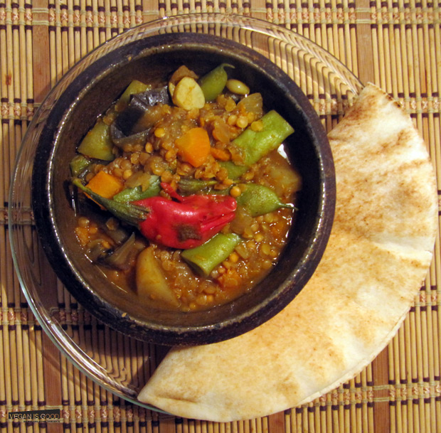 Sambhar with Read lentils