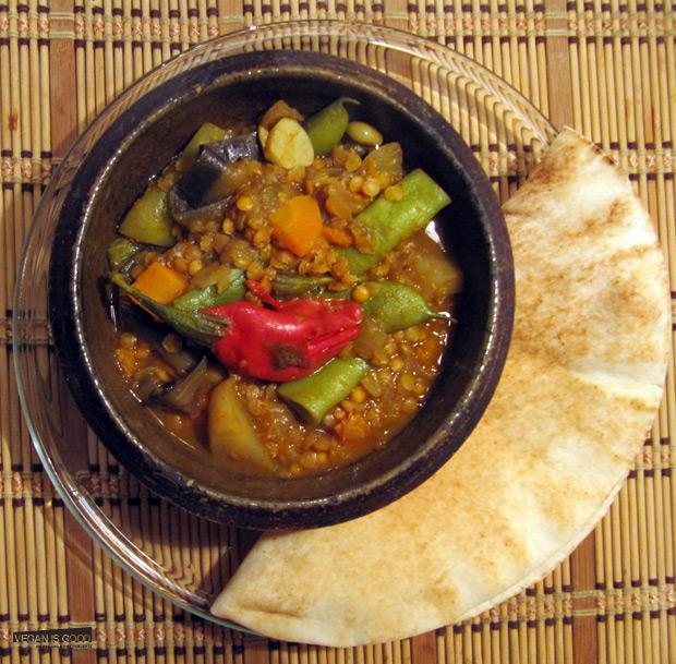 Sambhar with Read lentils